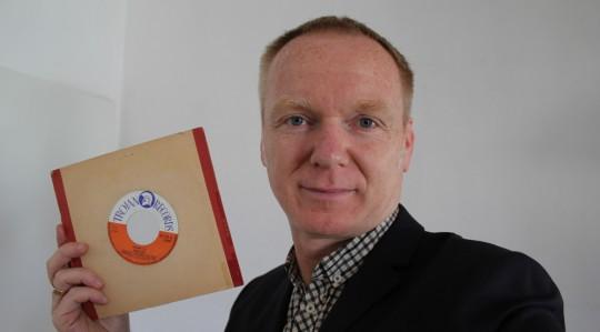 Joachim Uerschels mit Jimmy Cliff-Single